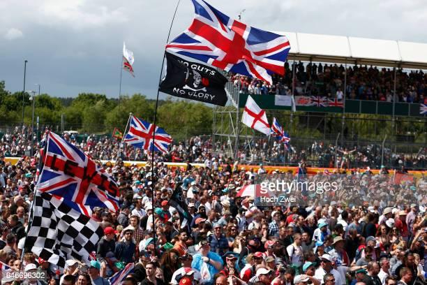 FIA Formula One World Championship 2015 Grand Prix of Great Britain british fans