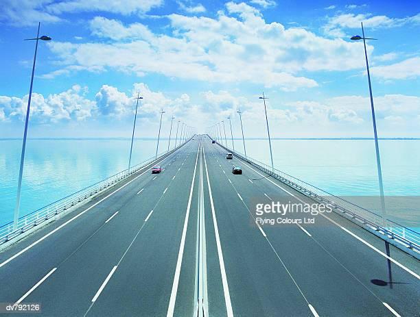 Motorway Bridge Across Water