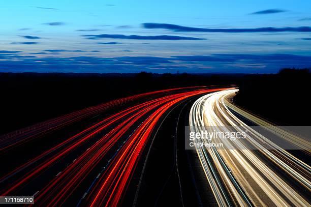 Motorway Sunset