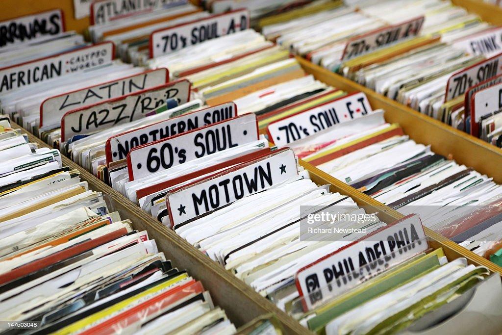 Motown, latin and jazz records