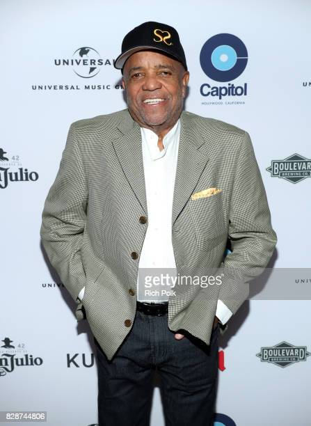 Motown Records Founder Berry Gordy attends Capitol Music Group's Premiere Of New Music And Projects For Industry And Media at ArcLight Cinemas on...