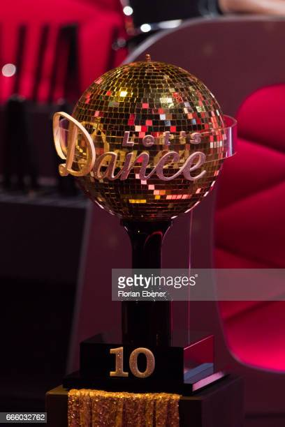 Motsi Mabuse and Joachim Llambi during the 4th show of the tenth season of the television competition 'Let's Dance' on April 7 2017 in Cologne Germany