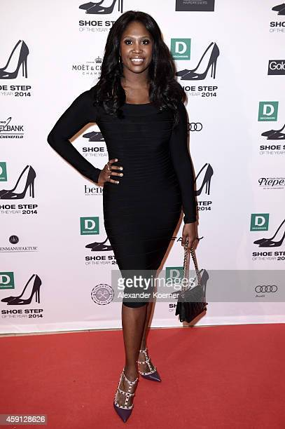 Motsi Mabuse attends the Deichmann Shoe Step of the Year 2014 at Atlantic Hotel on November 17 2014 in Hamburg Germany