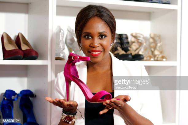 Motsi Mabuse attends the Deichmann Shoe Step of the year award at Curio Haus on May 16 2017 in Hamburg Germany