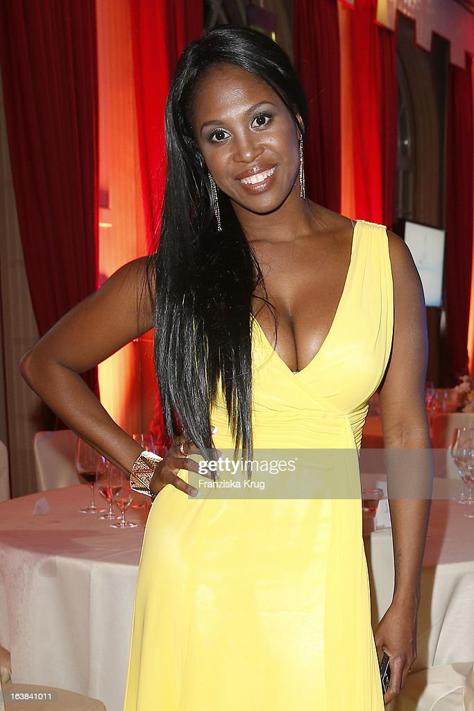 Motsi Mabuse attends the Gala Spa Award 2013 at the Brenners Park Hotel on March 16, 2013 in Berlin, Germany.