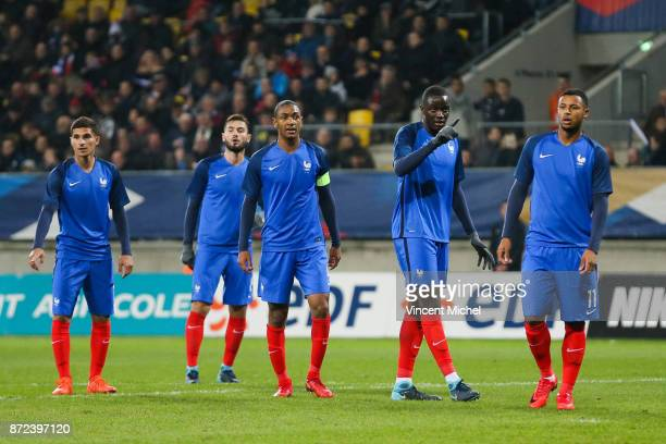 Mouctar Diakhaby of France during the Under 21s Euro 2019 qualifying match between France U21 and Bulgaria U21 on November 9 2017 in Le Mans France
