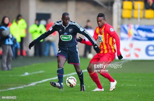 Mouhamadou DABO / Wylan CYPRIEN Lens / Lyon Coupe de France Photo Dave Winter / Icon Sport
