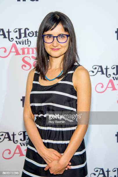 Moujan Zolfaghari attends 'At Home With Amy Sedaris' New York Screening at The Bowery Hotel on October 19 2017 in New York City