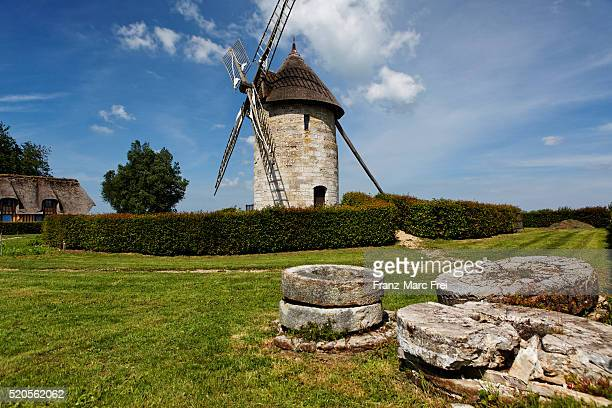 Moulin de Hauville, the oldest remaining windmill in Normandy