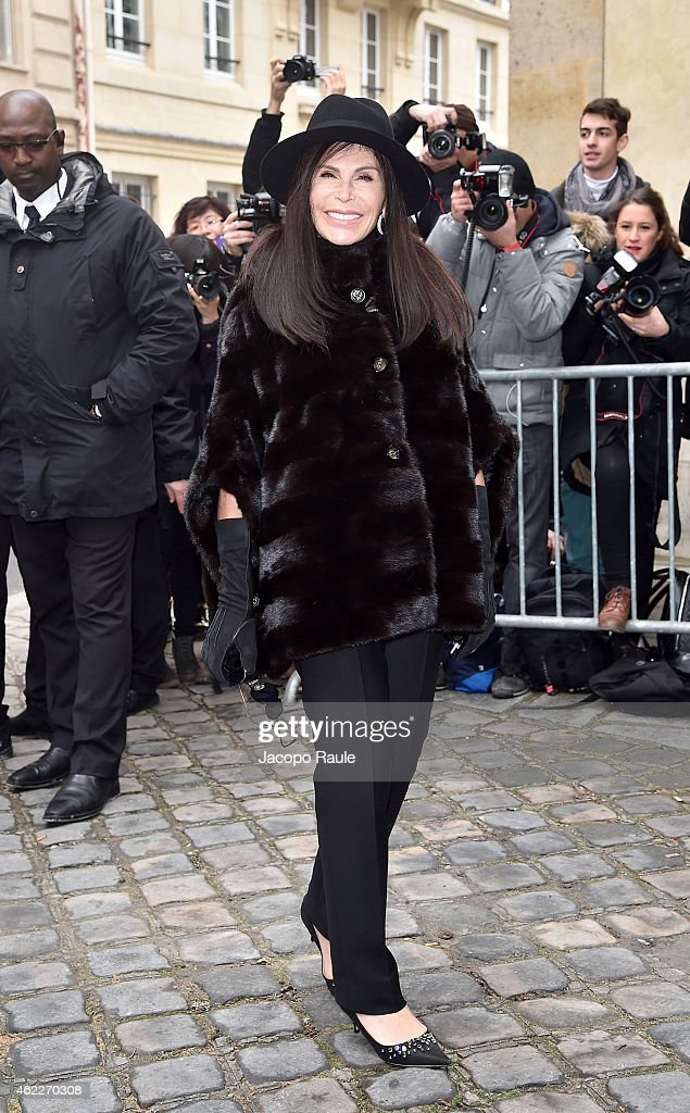 Celebrity Sightings - Day 2 - Paris Fashion Week : Haute Couture S/S 2015