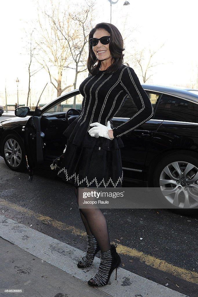 Zuhair Murad : Outside Arrivals - Paris Fashion Week - Haute Couture S/S 2014