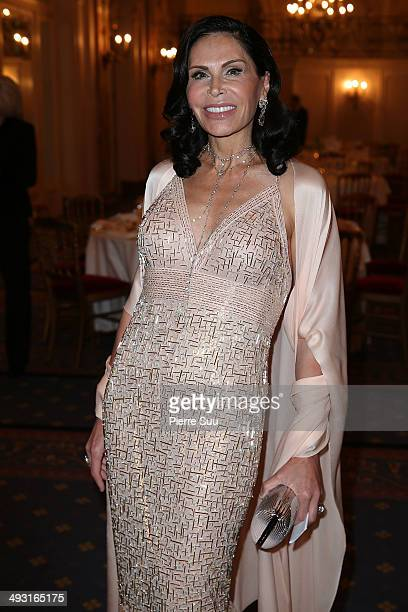 Mouna Ayoub attends the'Cine Fondation' Dinner at the 67th Annual Cannes Film Festival on May 22 2014 in Cannes France