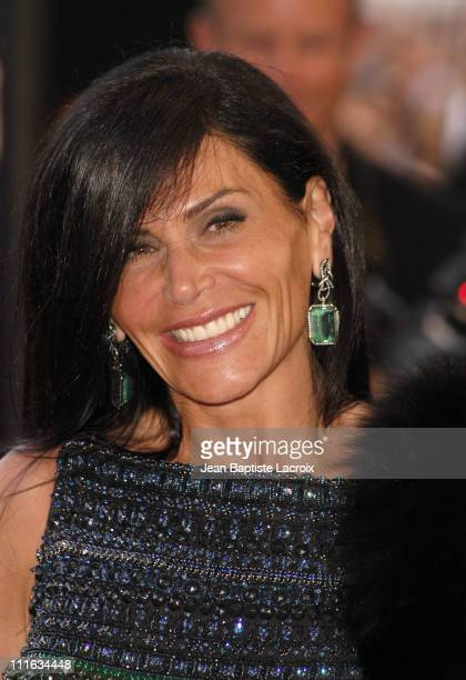 Mouna Ayoub during 2003 Cannes Film Festival Closing Ceremony Arrivals at Palais des Festivals in Cannes France