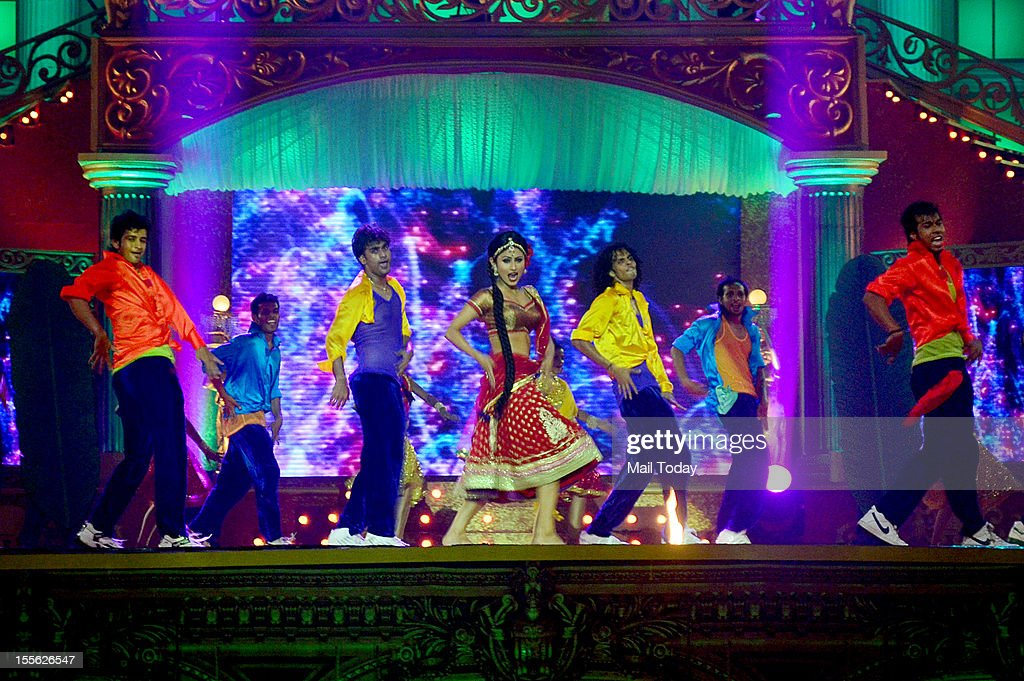 Mouni Roy performs during Indian Television Academy Awards 2012 (ITA Awards), held in Mumbai on November 4, 2012.