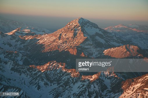 Mount Aconcagua in the Andes