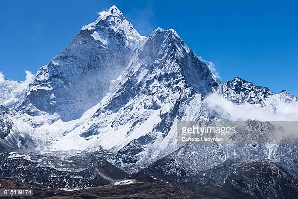 Montieren Berg Ama Dablam -wahrscheinlich der schönsten mountain im Himalaja