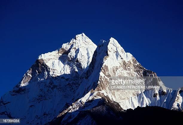 Mount Ama Dablam Sagarmatha National Park Himalayas Nepal