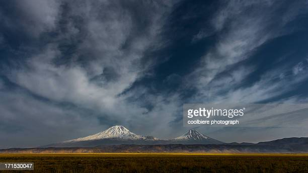 Mount Ararat and little Ararat