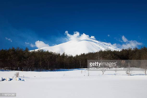 Mount Asama in Winter