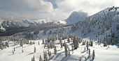 Mount Baker Ski Area Aerial View