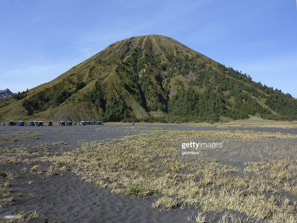 Monte Bromo Tengger Semeru Batok, parque nacional, Java Oriental : Foto de stock