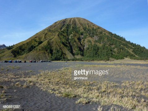 Mount Batok, Bromo Tengger Semeru National Park, East Java : Stock Photo