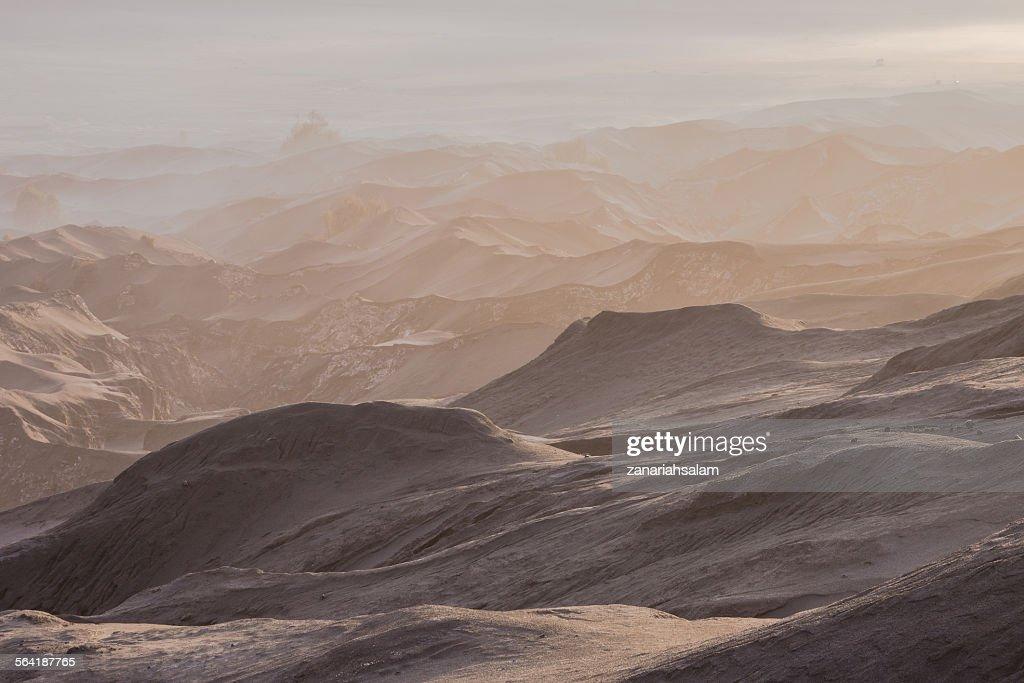 Mount Bromo Desert, Pasuruan, East Java, Indonesia