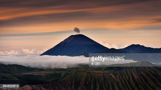 Mount bromo in the morning, East Java, Indonesia