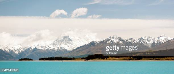 Mount Cook Panorama over Lake Pukaki