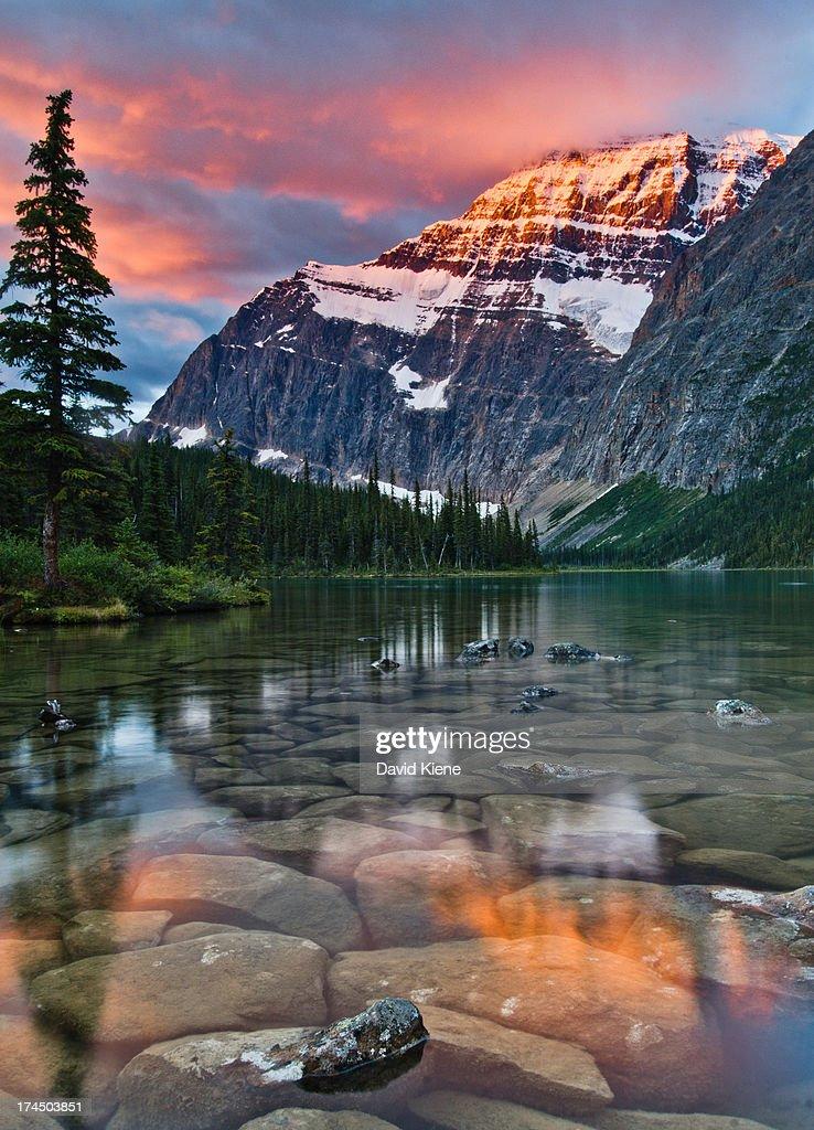 Mount Edith Cavell at Sunrise, Jasper National Par