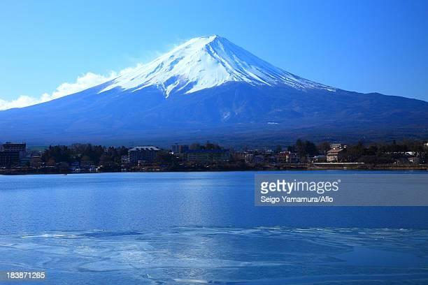 Mount Fuji and Kawaguchi Lake, Yamanashi Prefecture