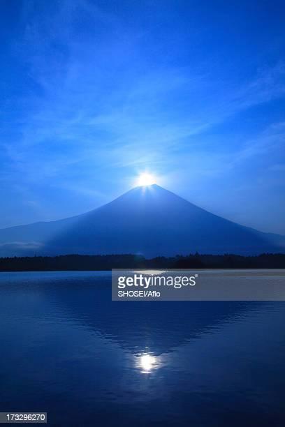 Mount Fuji and Lake Tanuki, Shizuoka Prefecture