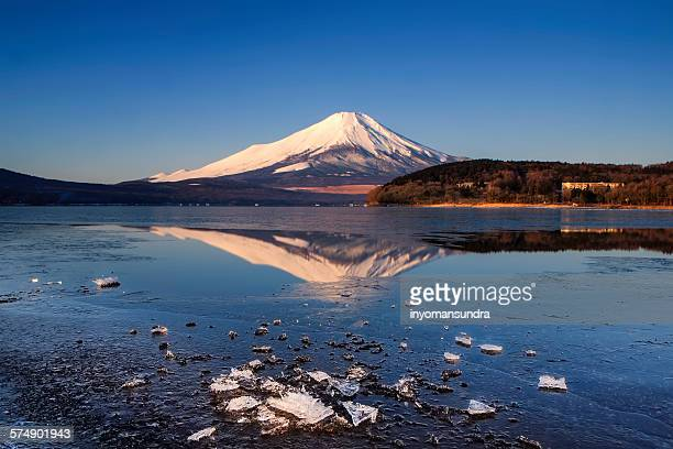 Mount Fuji and Yamanaka Lake, Japan