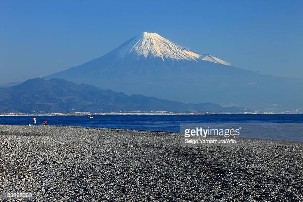 Mount Fuji seen from Matsubara, Shizuoka Prefecture