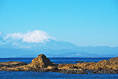 Mount Fuji which I watched from tateishikouen 立石公園からみた富士山