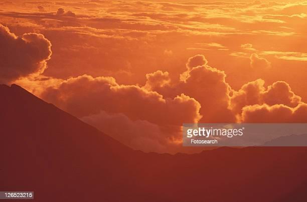 Mount Haleakala Volcano at Sunrise, Maui, Hawaii