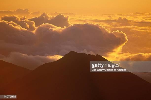 Mount Haleakala Volcano at Sunrise Maui Hawaii