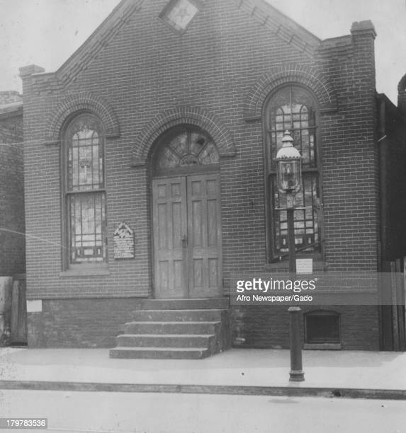 Mount Hebron Missionary Baptist Church is at 907 Fremont Avenue Baltimore Maryland June 11 1938