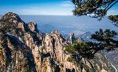 Mount Huangshan or Yellow Mountain in Anhui, China