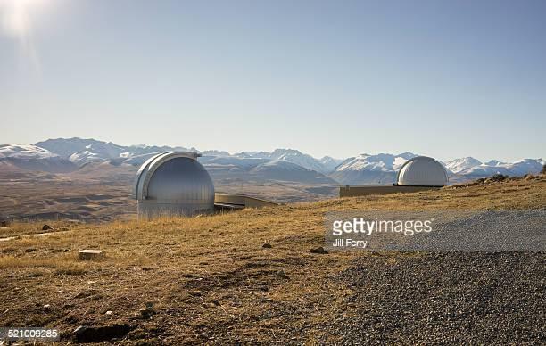 Mount John Observatory above Lake Tekapo
