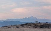 Mount Kenya in the distance