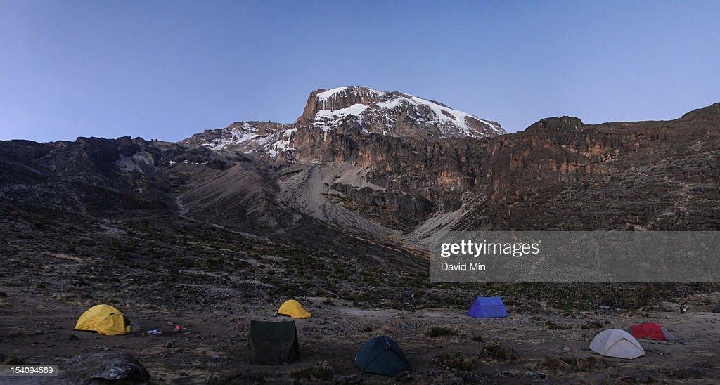 Mount Kilimanjaro, Tanzania : Stock Photo