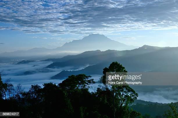 Mount Kinabalu Scenery in Sabah Borneo