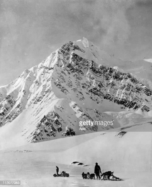 Mount McKinley or Denali in Alaska USA c 1900