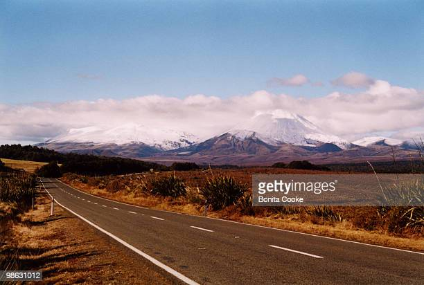 Mount Ngauruhoe and Mount Tongariro