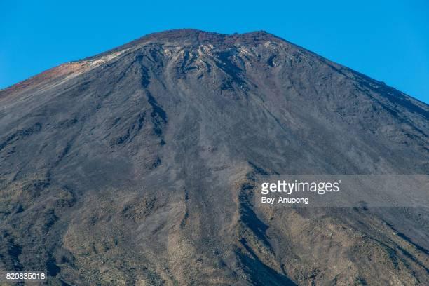 Mount Ngauruhoe or Mt.Doom the iconic famous volcano in Tongariro national park.