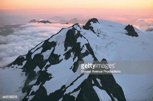 Mount Olympus, Olympic Mountain Range, Western Washington, USA
