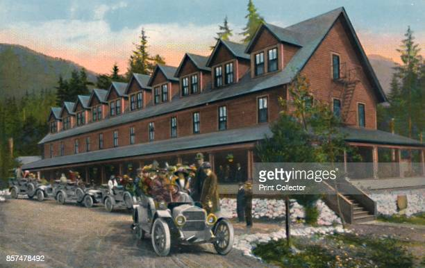 Mount Rainier National Park Inn' circa 1916 From Souvenir Folder The Switzerland of America Mount Rainier National Park Washington [Lowman Hanford Co...