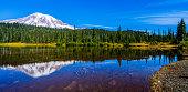 Mount Rainier Reflections Lake