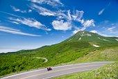 Mount Rausu, Hokkaido, Japan.